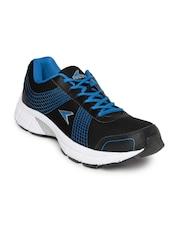 Power Men Black & Blue Sports Shoes