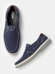 Roadster Men Navy Loafers