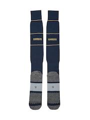PUMA Men Navy AFC Knee-Length Football Socks