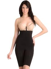 Swee Shapewear Black Seamless Tummy & Thigh Shaper
