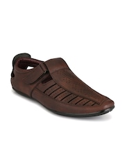 Mactree Men Brown Closed Sandals