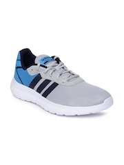 Adidas NEO Men Grey & Blue Cloudform Speed Casual Shoes
