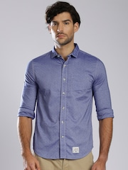 Superdry Blue Casual Shirt
