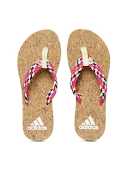 Adidas Women Multicoloured Flip-Flops