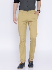 U.S. Polo Assn. Khaki Slim Fit Trousers