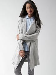 New Look Grey Longline Jacket