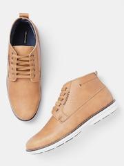 Mark Rapido Men Tan Brown Casual Shoes