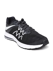 Nike Men Black Zoom Winflo 3 Running Shoes