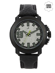 Fastrack Men Steel-Toned Analogue Watch 38015PL05J