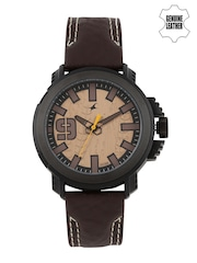 Fastrack Men Bronze-Toned Analogue Watch 38015PL04J