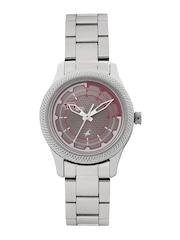 Fastrack Women Metallic Grey Analogue Watch 6158SM02