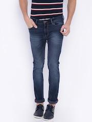 Arrow Men Blue Skinny Fit Mid Rise Clean Look Jeans