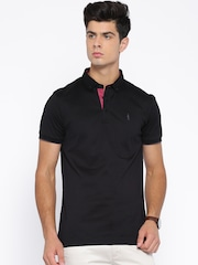 Arrow New York Black Polo T-shirt