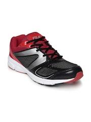 FILA Men Black & Red Antro Lite Running Shoes