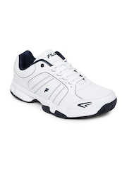 FILA Men White Set 6 Tennis Shoes