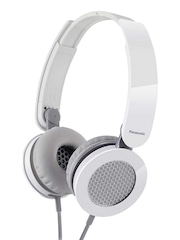 Panasonic White RP-HXS200E Headphones