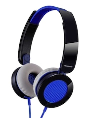 Panasonic Blue & Black RP-HXS200E Headphones