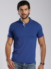 Tommy Hilfiger Blue Slim Fit Polo T-shirt