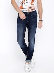 Lee Blue Low-Bruce Skinny Fit Jeans
