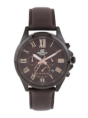 CASIO Edifice Men Coffee Brown Chronograph Watch EX316