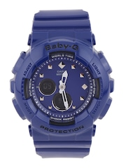 CASIO BABY-G Women Navy Chronograph Analogue & Digital Watch BX069