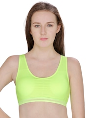Secret Wish Green Sports Bra 2689