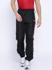 FILA Navy Polyester Track Pants