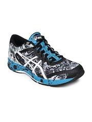 ASICS Men Black & Grey Gel-Noosa Tri 11 Running Shoes