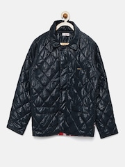 U.S. Polo Assn. Kids Boys Navy Quilted Jacket