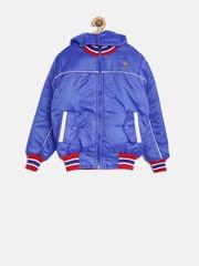 U.S. Polo Assn. Kids Boys Blue Hooded Jacket
