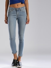 Levis Blue Skinny Fit Jeans 711