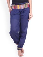 SOUNDARYA Navy Trousers