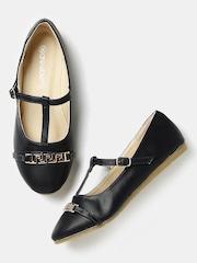 DressBerry Women Navy Flat Shoes