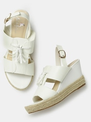Mast & Harbour Women White Wedges