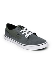 DC Men Grey & Olive Green Tonik Skateboard Casual Shoes