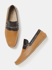 Mast & Harbour Men Brown Loafers