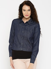 IMARA by Sharddha Kapoor Blue Denim Jacket