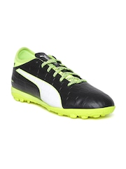 Puma Men Black Safety Football Shoes