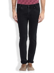 Mufti Black Narrow Fit Jeans
