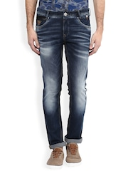 Mufti Blue Super-Slim Fit Jeans