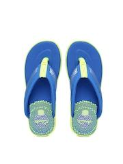 Clarks Boys Blue & Green Bonza Fun Flip-Flops