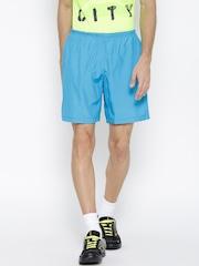 Reebok Blue RE 8 Inch Polyester Running Shorts
