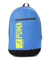 PUMA Unisex Blue Pioneer Backpack