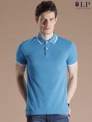 Louis Philippe Sport Blue Polo T-shirt