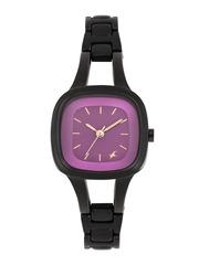 Fastrack Women Purple Dial Watch 6147NM03