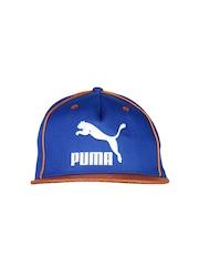 PUMA Unisex Blue & Brown Cap