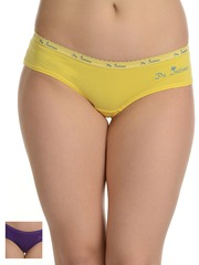 Da Intimo Women Pack of 2 Printed Briefs DIU-6366