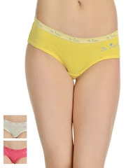 Da Intimo Women Pack of 3 Assorted Briefs DIU-707172