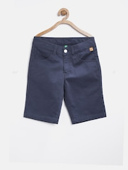 United Colors of Benetton Boys Navy Shorts