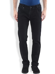 Mufti Black Narrow Jeans